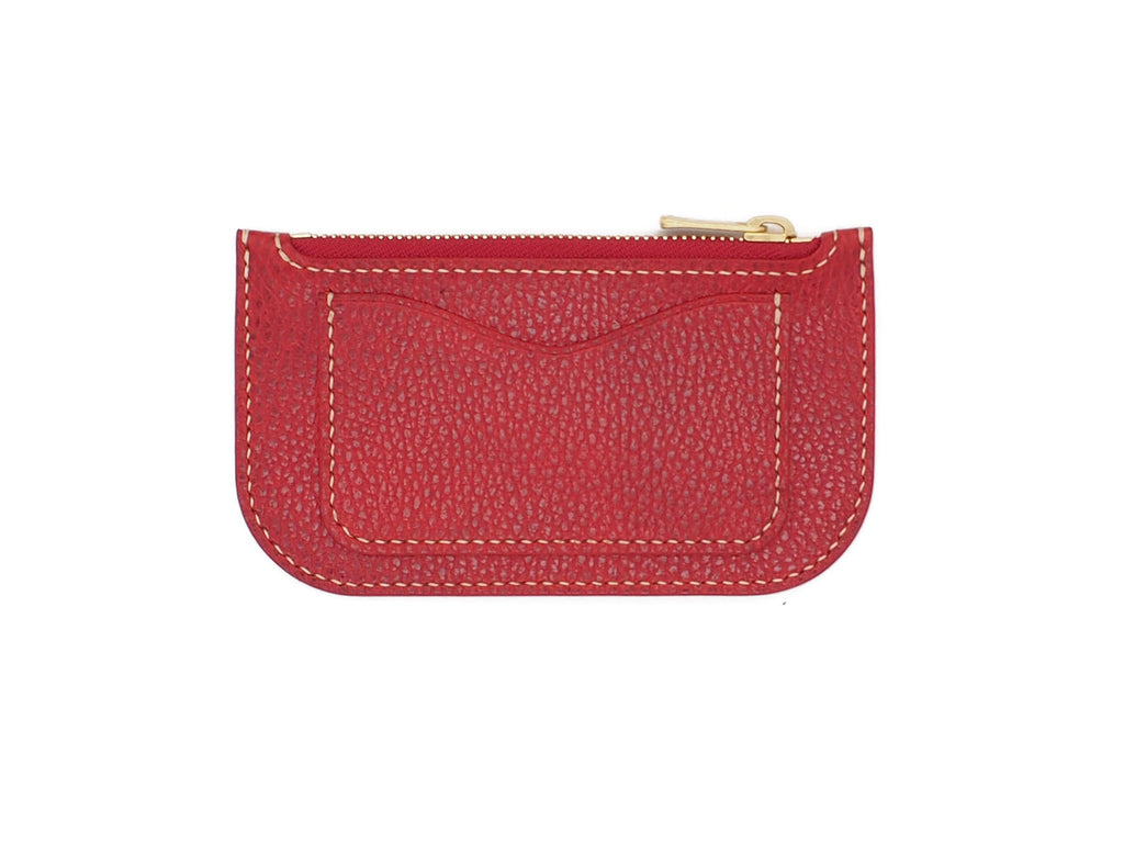 Alice - Zip Wallet In Dollaro Red