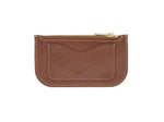 Alice - Zip Wallet In Pebbled Brown