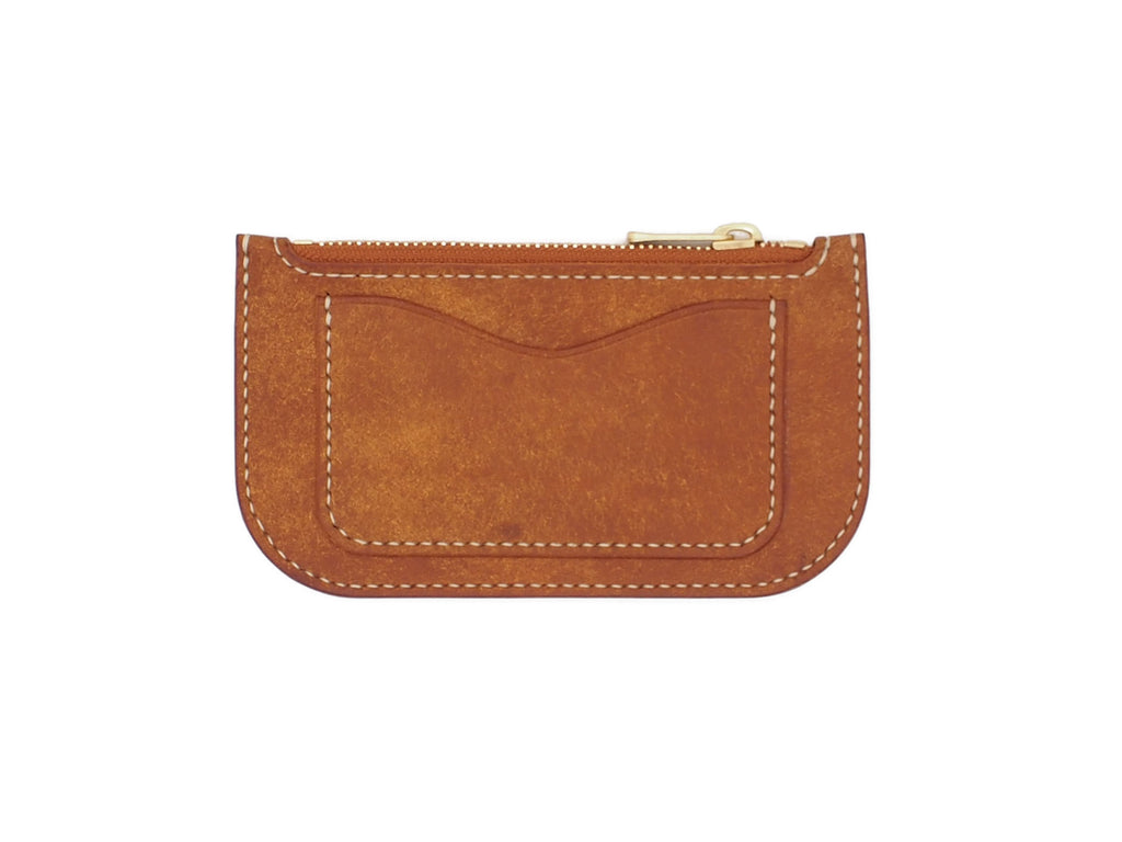 Alice - Zip Wallet In Cognac Pueblo