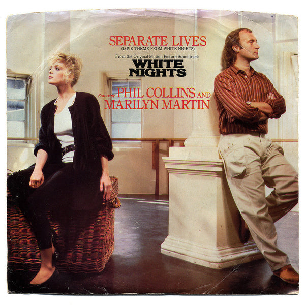 Separate Lives (key change to F# at end) by Phill Collins & Marilyn Martin (E)