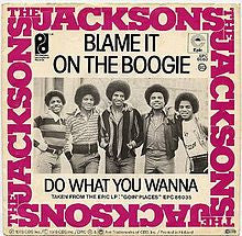 Blame It On The Boogie by The Jacksons (Eb)