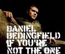 If You're Not The One by Daniel Bedingfield (Bb)