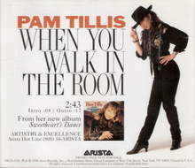 When You Walk In The Room by Pam Tillis (F#)