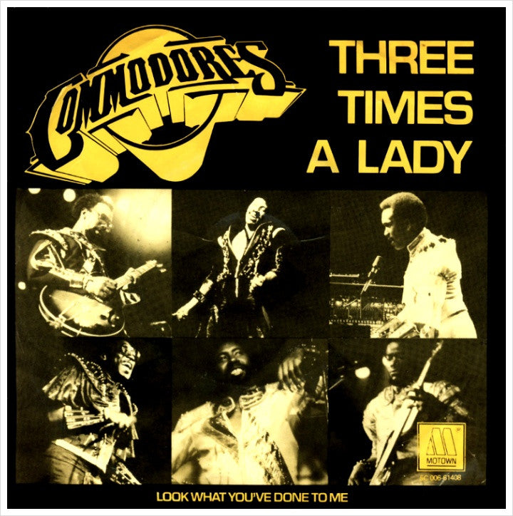 Three Times A Lady by The Commodores (Db)