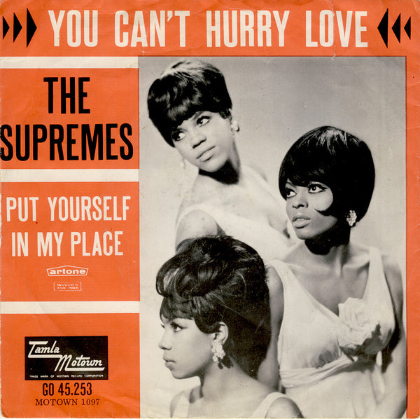 Can't Hurry Love by The Supremes (B)