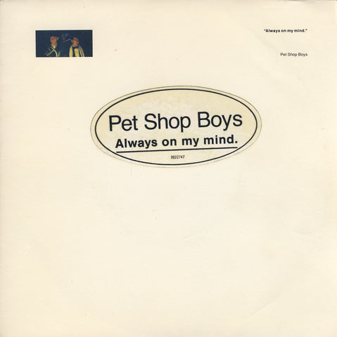 Always On My Mind by Pet Shop Boys (F)