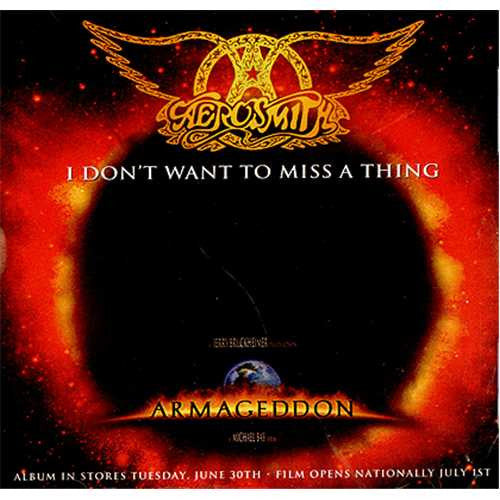 I Don't Wanna Miss A Thing (Aerosmith) - Music Design Version (Eb)