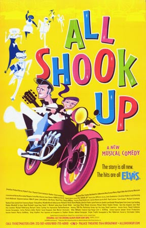 C'mon Everybody by All Shook Up Stage Show (Eb)