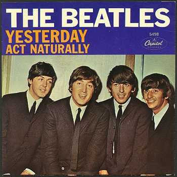 Yesterday by The Beatles (F), Backing Track - Music Design