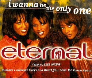 I Wanna Be The Only One by Eternal ft. Bebe Winans (F#)