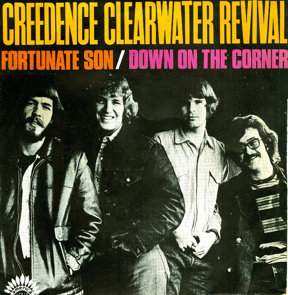Fortunate Son by Creedance Clearwater Revival (G)