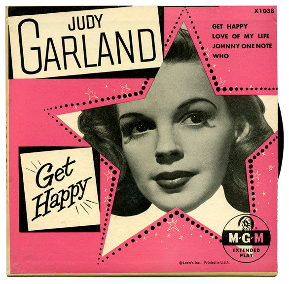 Get Happy by Judy Garland (G)