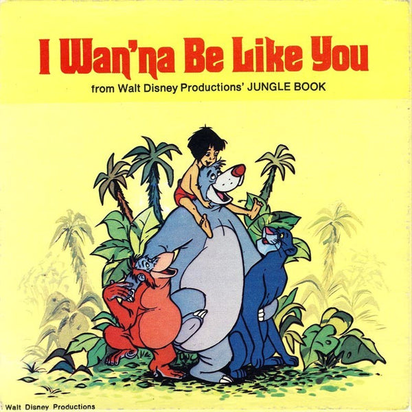 I Wanna Be Like You from Jungle Book (C#m)