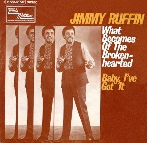 What Becomes Of The Broken Hearted by Jimmy Ruffin (Eb)