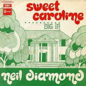 Sweet Caroline by Neil Diamond (F#)