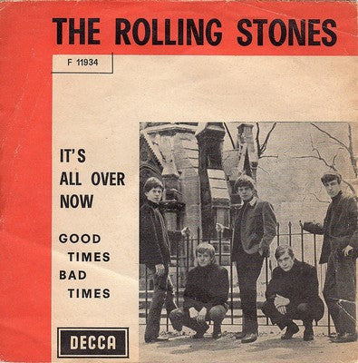 It's All Over Now by Rolling Stones (G)