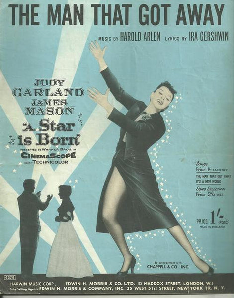 The Man That Got Away by Judy Garland (Ab)