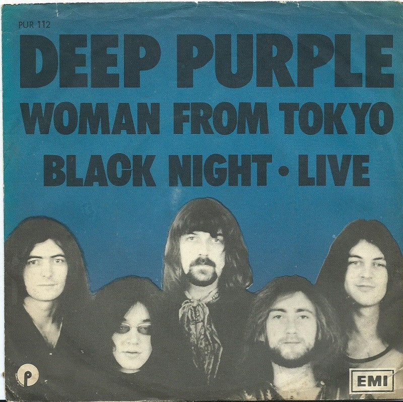 Woman From Tokyo by Deep Purple (E), Backing Track - Music Design