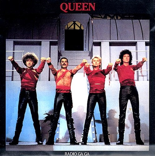 Radio GaGa (cut) by Queen (A)