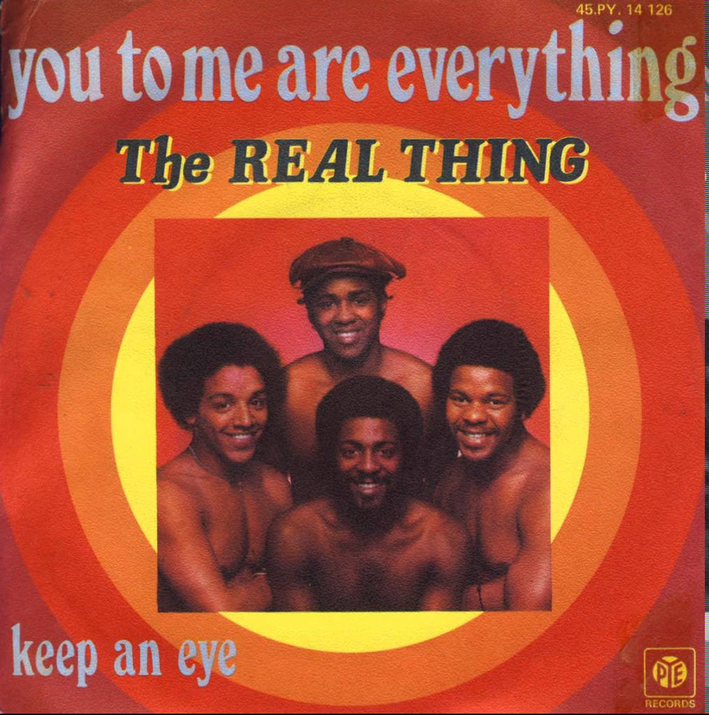 You To Me Are Everything by The Real Thing (E), Backing Track - Music Design