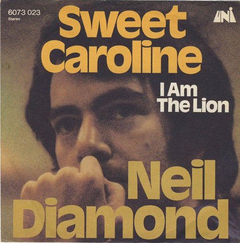 Sweet Caroline alt. version (no bvs) by Neil Diamond (Ab)