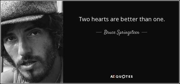 Two Hearts by Bruce Springsteen (F)