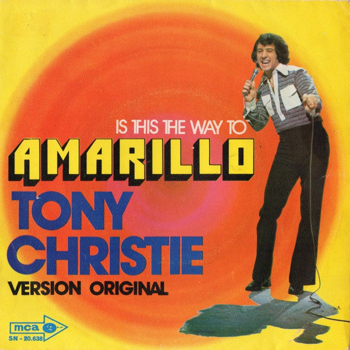 Amarillo by Tony Christie (F#)