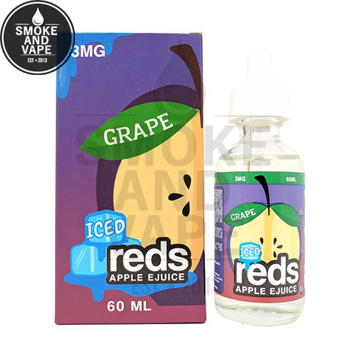 Grape Apple Reds Ejuice by 7 Daze 60ml ⚡