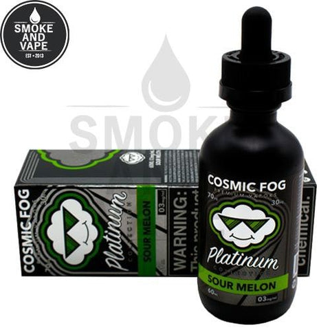 Sour Melon by Cosmic Fog Platinum Edition 60ml