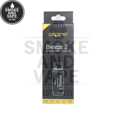 Breeze 2 Replacement Coils by Aspire