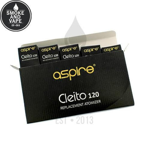 Aspire Cleito 120 Replacement Coils (5 Pack)