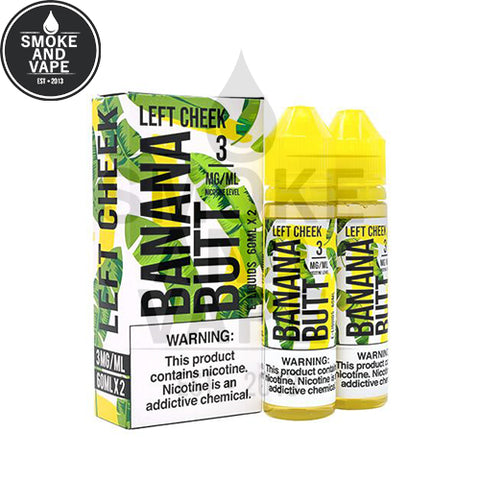 Left Cheek by Banana Butt E-Liquid 120ml