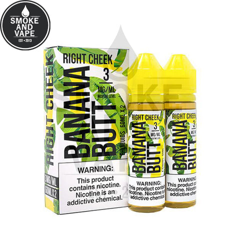 Right Cheek by Banana Butt E-Liquid 120ml