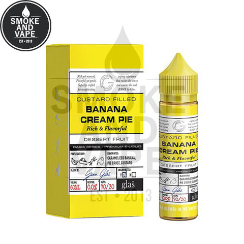 Banana Cream Pie by Glas Basix 60ml