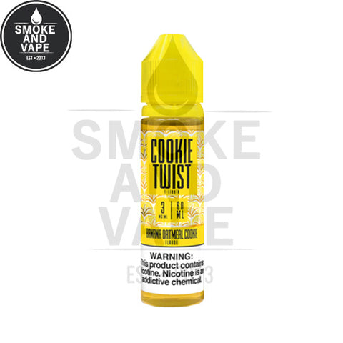 Banana Oatmeal Cookie by Cookie Twist E-Liquids 60ml