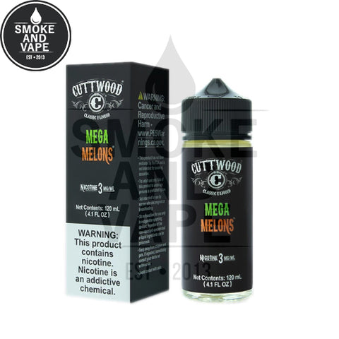 Mega Melons by Cuttwood 120ml