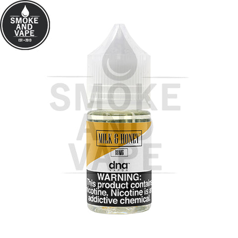Milk & Honey by DNA Vapor Salt 30ml