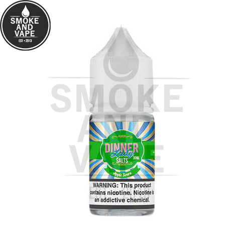 Apple Sours by Dinner Lady Premium E-Liquids Salt 30ml