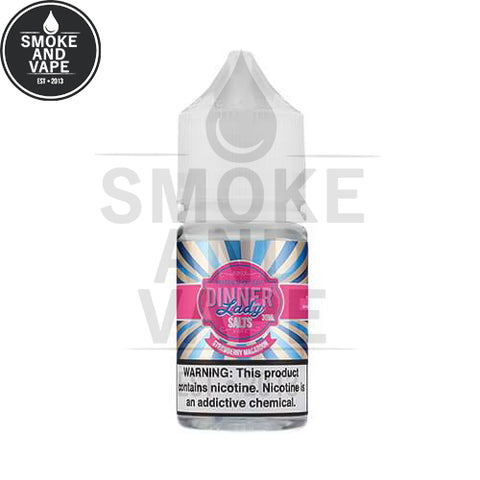 Strawberry Macaroon by Dinner Lady Premium E-Liquids Salt 30ml
