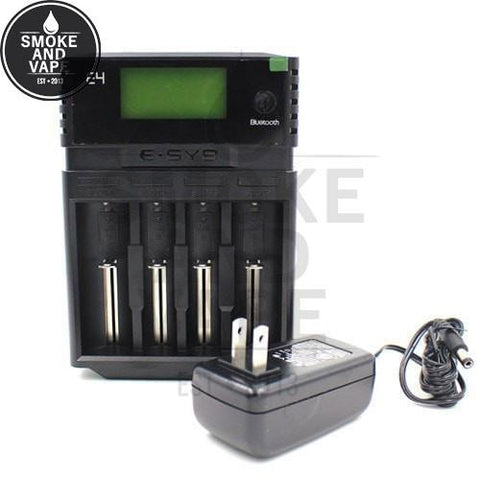 LCD Battery Charger E4 Bluetooth App by ESYB