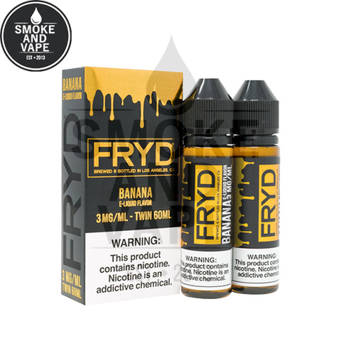 Drip Fried Banana by FRYD 120ml
