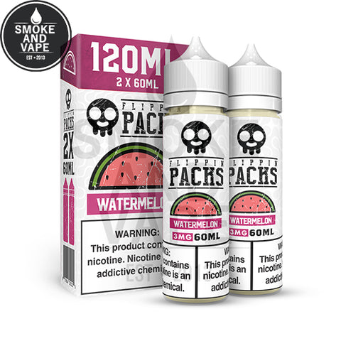 Watermelon by Flippin Packs 120ml