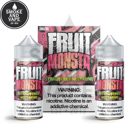 Strawberry Nectarine by Fruit Monsta 200ml