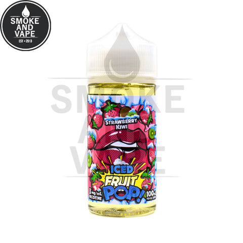 Strawberry Kiwi Ice by Fruit Pop 100ml