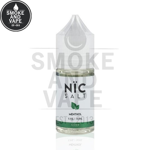 Menthol by Gost Salt Nic 30ml