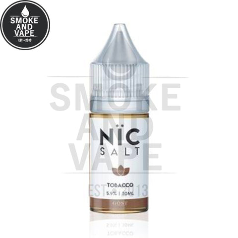 Tobacco by Gost Salt Nic 30ml