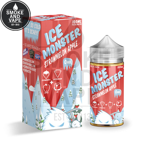 Strawmelon Apple by Ice Monster 100ml