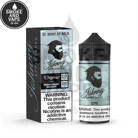 Frenchman Delight by Johnny Apple Vapes 100ml