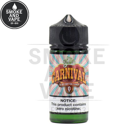 Carnival Blue Raspberry Cotton Candy by Juice Roll-Upz 100ml