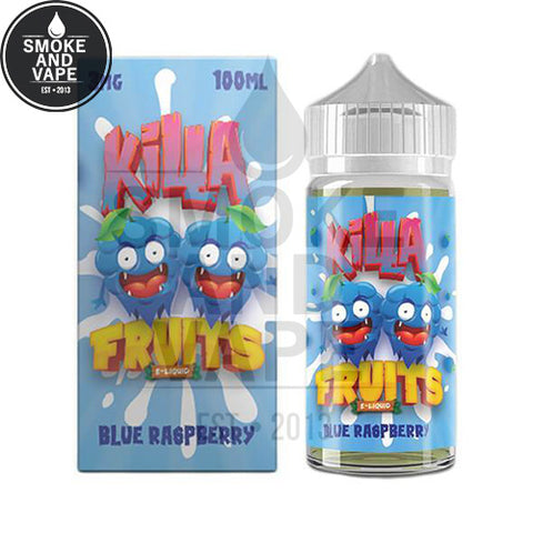 Blue Raspberry by Killa Fruits 100ml